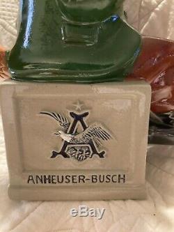 1991 Anheuser-Busch Budweiser Bevo Fox German Beer Stein! NIB