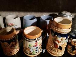 50 Vintage German & others Beer Stein Lot