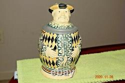 Antique Character Chinaman German Beer Stein, MWGr Merkelbach & Wick, Circa 1900