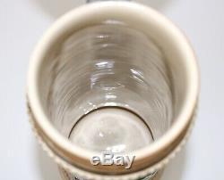 Antique German Beer Stein Cherusker Stein 3.5 liters Tankard, Beer Mug, 20 Tall