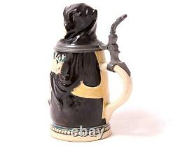 Antique German Character Beer Stein Munich Child by Merkelbach/Wick 0.25L c. 1900