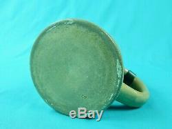 Antique German Germany WW1 1909 Small Ceramic Lidded Beer Stein Mug