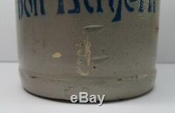 Antique WWI German Stoneware 1L Beer Stein Rupprecht of Bavaria Army Iron Cross