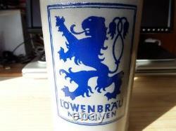 Deutsche Lowenbrau Beer Stein Circa Pre East/west German Division Rare