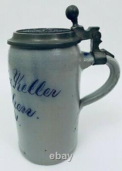German Beer Stein 1L Lowenbraukeller Numbered Brewery Munchen Oktoberfest Gift