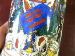 German Beer Stein 1/2 Liter