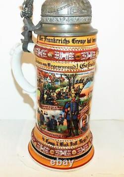 German Regimental Beer Stein 1912-14