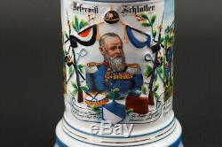 German Regt Beer Stein, Bavarian 18th Infantry Rgt, 1899-1901