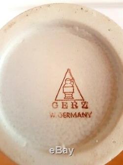 Gerz Bierseidel Stoneware Medium German Beer Stein