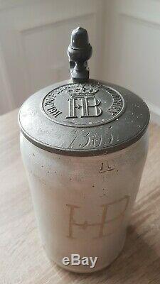 HB Antique Rare Collectible GERMAN Beer Steins MUG 1L ORIGINAL Oktoberfest