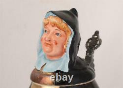 Large Antique/Vintage German Character Beer Stein Munich Child c. 1920s/30s