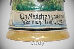 Large German Beer Stein. Made In Germany. Handmade