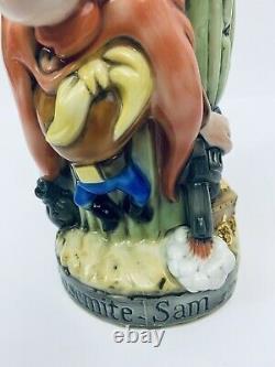 Looney Tunes Yosemite Sam German Character Lidded Beer Stein Ltd. Ed. # 618 Gift