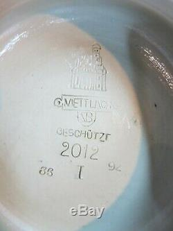 Mettlach Beer Stein Tankard 2012 Art Nouveau Hanseatic League German Date 1892