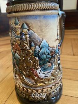 NEW Zoller & Born German Beer Stein Limited Edition Neuschwanstein Castle RARE