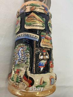 NWT KING-WERK Handcrafted German Beer Stein Limited Edition