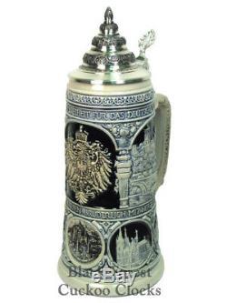Original German Beerstein Germany Heritage Stein NEW
