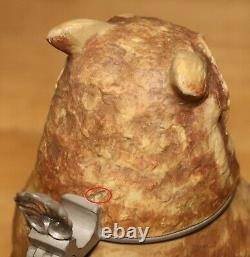 Owl by Mettlach 1/2 L German beer stein Antique # 2036 figural / character