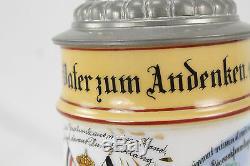 Pre Ww1 German Infantry Beer Stein