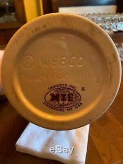 Schultz & Dooley Original Beer Steins WEBCO Utica Club German Beer Steins