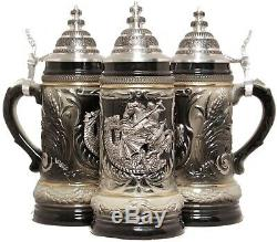 St. George the Dragon Slayer LE German Beer Stein ONE Mug Made in Germany New