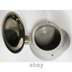 Steinzeugwerke German Army Helmet Stoneware Beer Stein Front-Heil Koblenz 1930