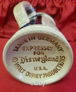Vintage 1956 Disneyland Antique German Beer Stein