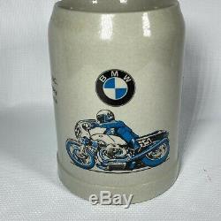 Vintage 1970s Butler & Smith R90s Superbike Bmw Motorcycle German Beer Stein