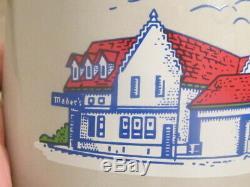 Vintage 50's Mader's famous German Restaurant Milwaukee, WI 2 Liter Beer Stein