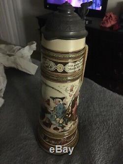 Vintage Antique German Beer Stein