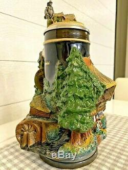 WW-Team Black Forest Edition Panorama 3D German Beer Stein w COA