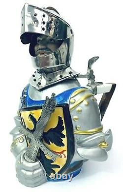 WW Team German Character Beer Stein Knight Limited Ed 394/5000 Maximillian Gift
